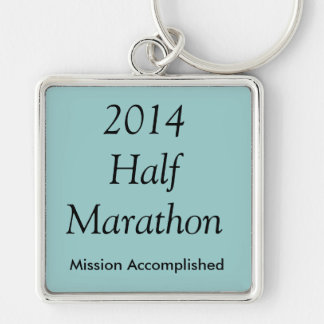 Half Marathon, Mission Accomplished! Keychain