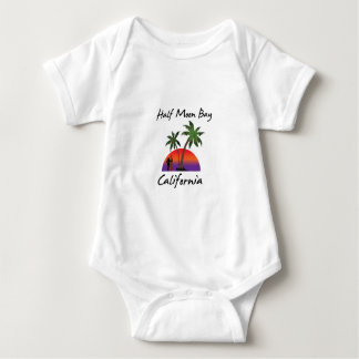 Half Moon Bay California Baby Bodysuit