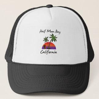Half Moon Bay California Trucker Hat