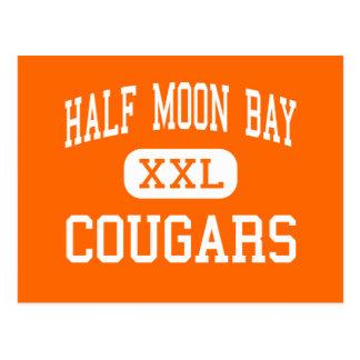 Half Moon Bay - Cougars - High - Half Moon Bay Postcard