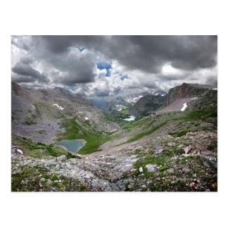 Half Moon Lake - Weminuche Wilderness - Colorado Postcard
