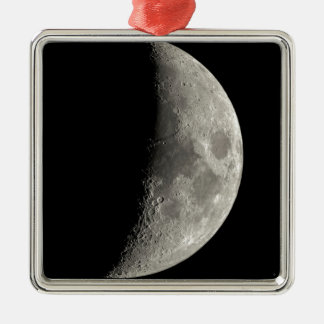 Half Moon Metal Ornament