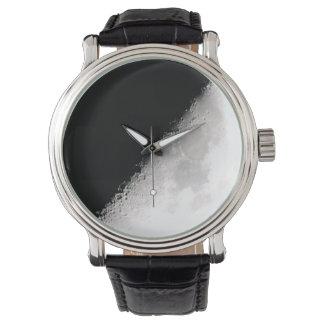 Half-moon Wrist Watch
