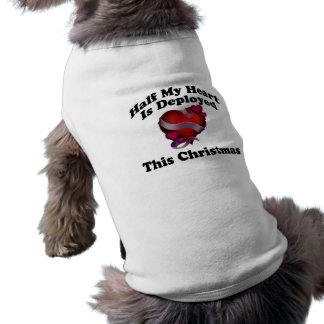 Half My Heart Is Deployed This Christmas Shirt