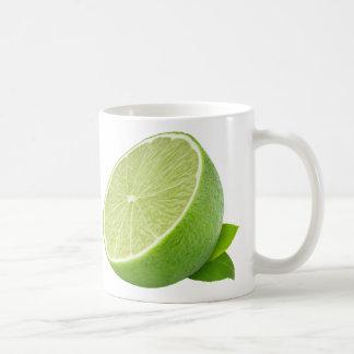 Half of lime coffee mug