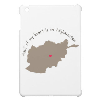 Half Of My Heart Is In Afghanistan iPad Mini Cases