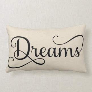 Half of Sweet Dreams | Dreams Lumbar Pillow