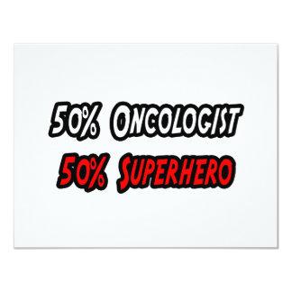 Half Oncologist Half Superhero Card