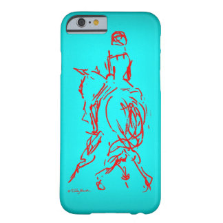 Half Pass: Turquoise iPhone 6 case