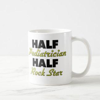 Half Pediatrician Half Rock Star Coffee Mug