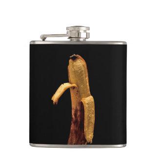 Half Peeled Banana Still Life Flasks
