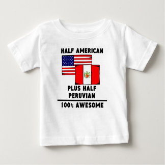 Half Peruvian 100% Awesome Baby T-Shirt