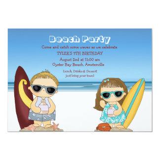 Half-Pint Surfers Invitation