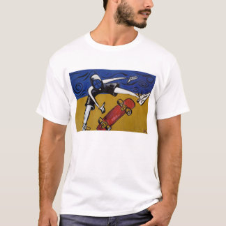 Half Pipe Skater by Doug LaRue T-Shirt
