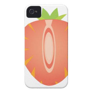 half strawberry iPhone 4 case