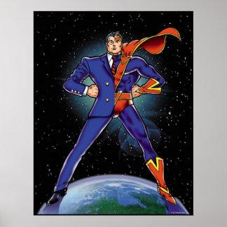 Half Super-Hero Poster
