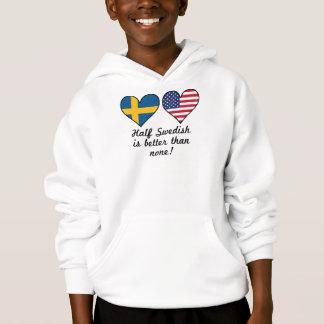 Half Swedish Is Better Than None