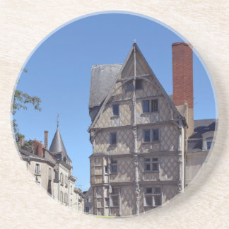 Half-timbered house in Angers Coaster