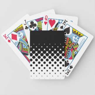 Half Tone Bicycle Playing Cards