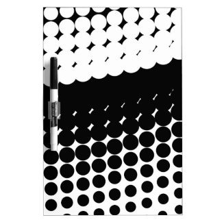 Half Tone Curve Dry Erase Board