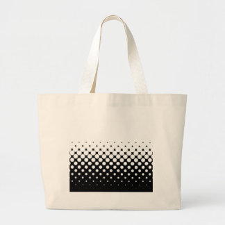 Half Tone Large Tote Bag