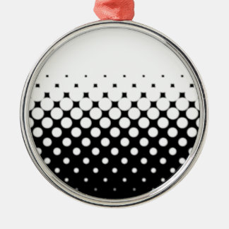 Half Tone Metal Ornament