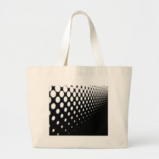 Half Tone Perspective Large Tote Bag
