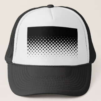 Half Tone Trucker Hat