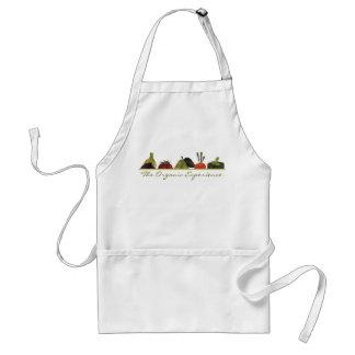 half veggies fruits cooking t-shirt kitchen app... adult apron