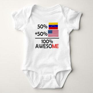 Half Venezuela Half American Baby Bodysuit