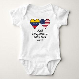 Half Venezuelan Is Better Than None Baby Bodysuit
