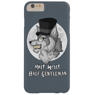Half Wolf Half Gentleman Barely There iPhone 6 Plus Case