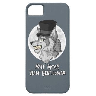 Half Wolf Half Gentleman iPhone 5 Covers