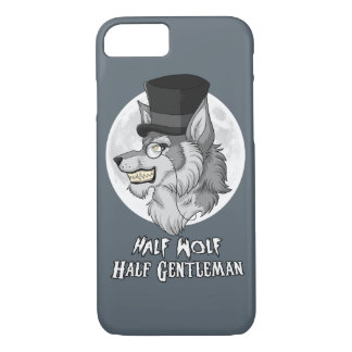 Half Wolf Half Gentleman iPhone 7 Case