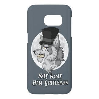 Half Wolf Half Gentleman Samsung Galaxy S7 Case