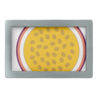 half yellow fruit belt buckle