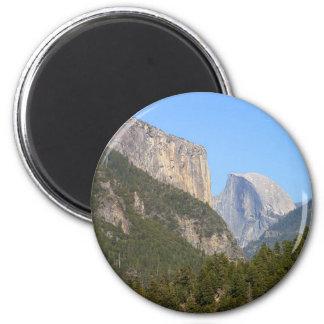 Halfdome Yosemite Forests Magnet