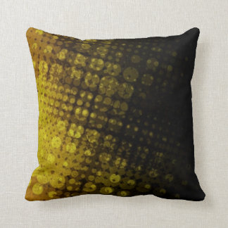 Halfton Pop Dark Olive Pillow