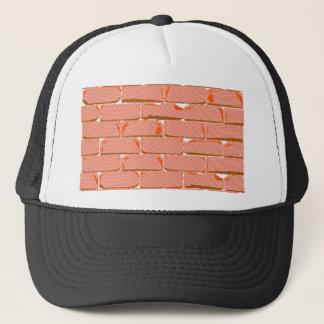 Halftone Brick Wall Trucker Hat