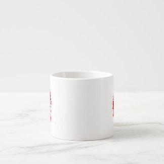 Halftone Comic Exclamation Espresso Cup