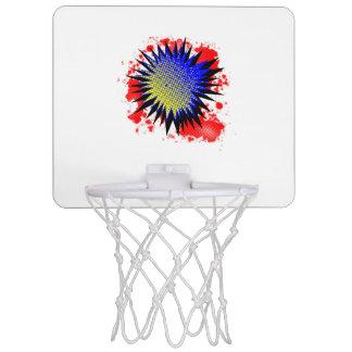 Halftone Comic Exclamation Mini Basketball Hoop