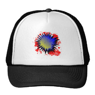 Halftone Comic Exclamation Trucker Hat