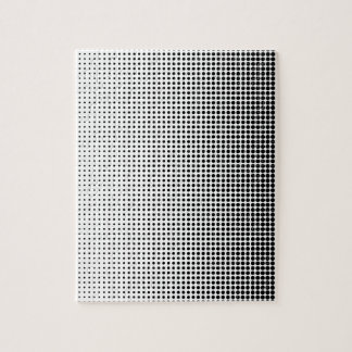 Halftone Faded Grid Jigsaw Puzzle