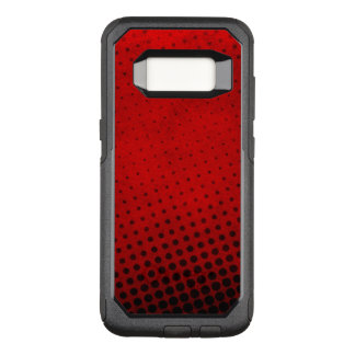 Halftone pattern background OtterBox commuter samsung galaxy s8 case