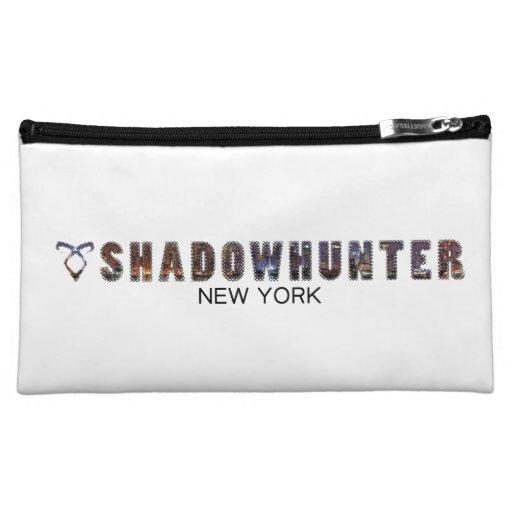 Halftone Shadowhunter Design Cosmetics Bags