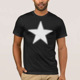 Halftone Star - White T-Shirt