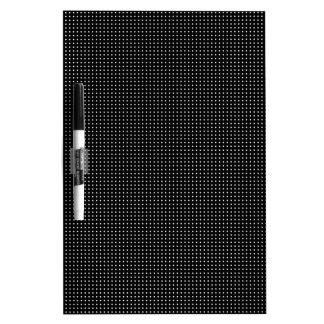 Halftone White Grid Dry Erase Whiteboard