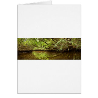 Halfway Creek at Low Tide Card