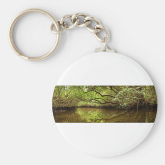 Halfway Creek at Low Tide Keychain