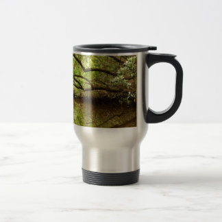 Halfway Creek at Low Tide Travel Mug